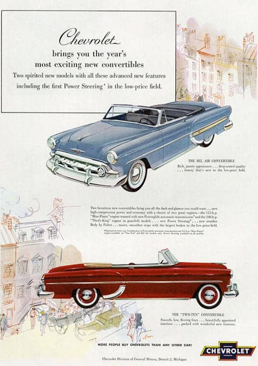 automobile-cars-chevy-autochev4-Framed Vintage Artwork from Interior Elements, Eagle WI