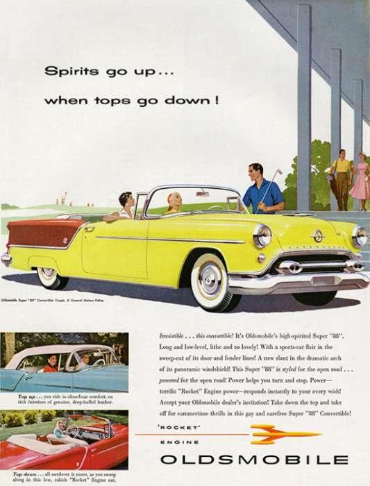 automobile-cars-oldsmobile-autoolds2-Framed Vintage Artwork from Interior Elements, Eagle WI
