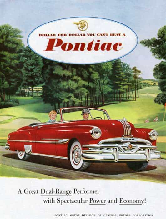 automobile-cars-pontiac-autop2-Framed Vintage Artwork from Interior Elements, Eagle WI