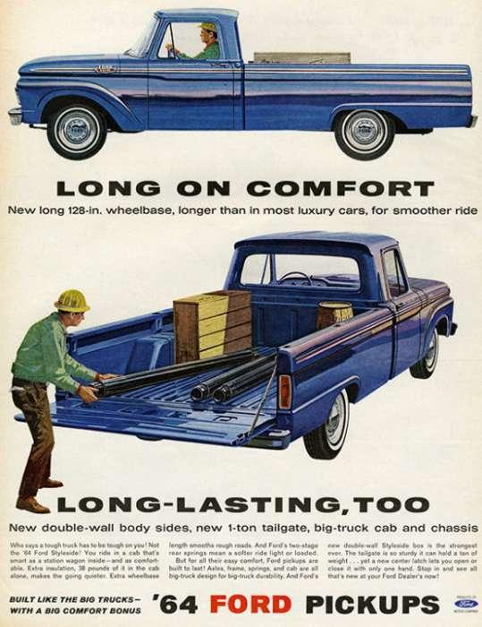 automobile-cars-truck-autotruck1-Framed Vintage Artwork from Interior Elements, Eagle WI