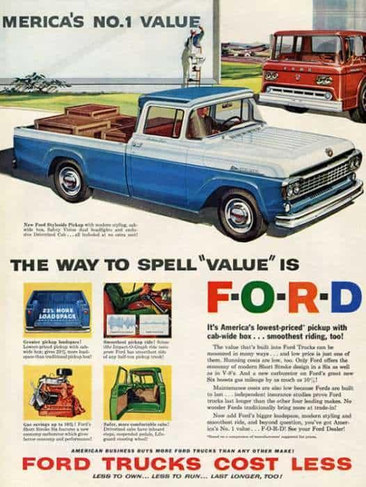 automobile-cars-truck-autotruck2-Framed Vintage Artwork from Interior Elements, Eagle WI