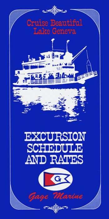 Lake-Geneva-Cruise-Blue-LGCB-Framed Artwork from Interior Elements, Eagle WI