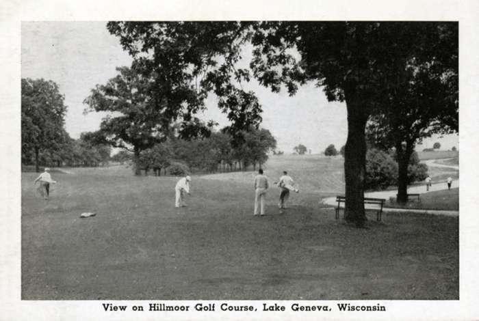 lake-geneva-hillmore-golf-lghg-Framed Vintage Artwork from Interior Elements, Eagle WI