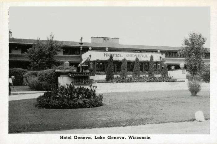 lake-geneva-hotel-geneva-lghtg-Framed Vintage Artowrk from Interior Elements, Eagle WI