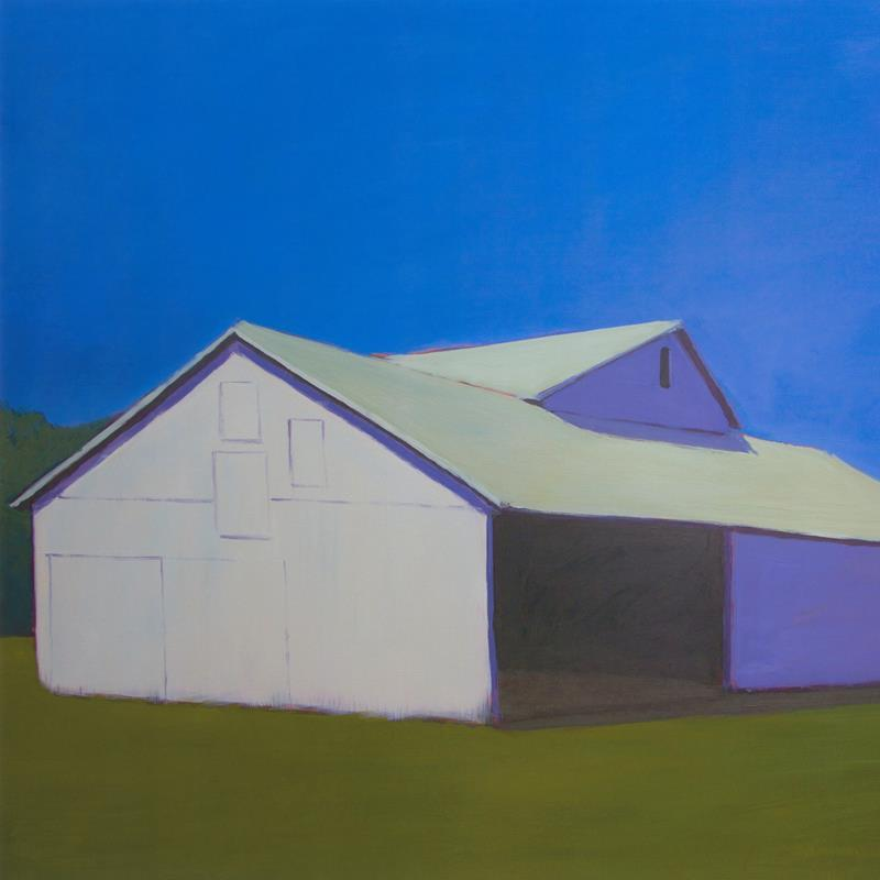 Barn Lonely Barn 20x20 Framed Artwork from Interior Elements, Eagle WI