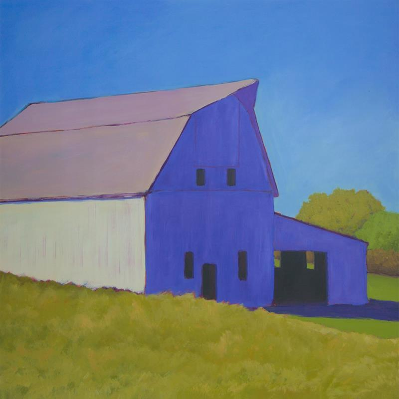 Barn Over the Hill 20x20 Framed Artwork from Interior Elements, Eagle WI