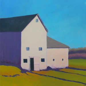 Barn Purple Shade 20x20 Framed Artwork from Interior Elements, Eagle WI