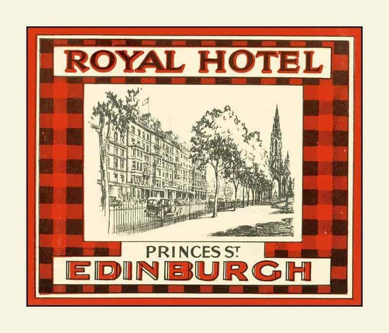 Edinburgh 12x14 Framed Artwork from Interior Elements, Eagle WI