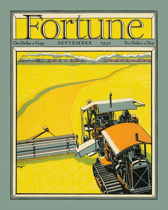 Fortune Magazine 10 16x20 Framed Artwork from Interior Elements, Eagle WI