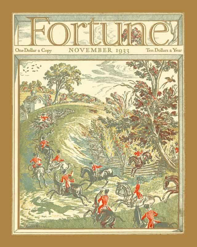Fortune Magazine 11 16x20 Framed Artwork from Interior Elements, Eagle WI