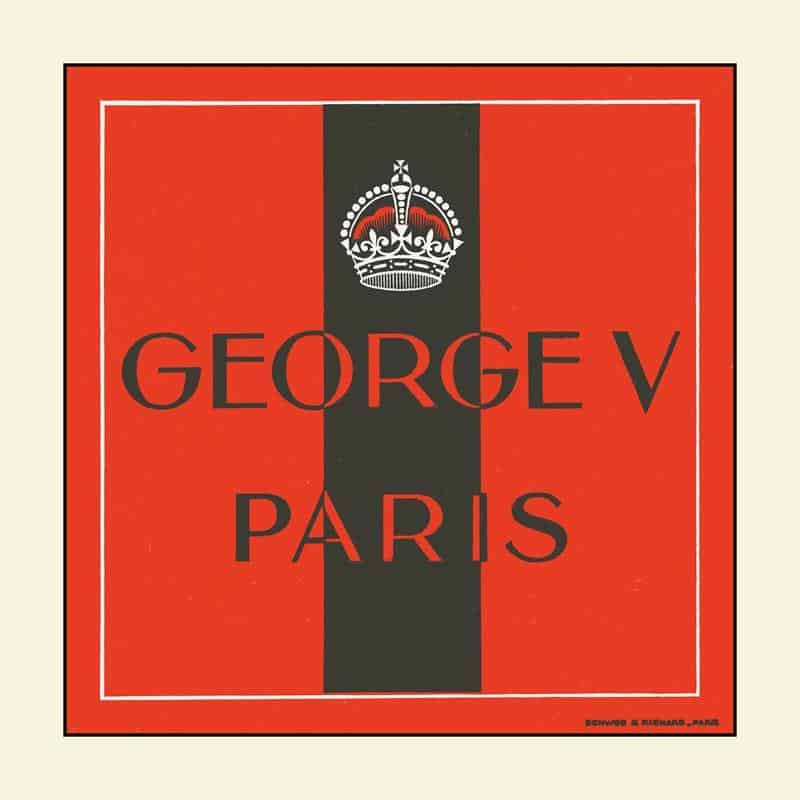 Georges V 12x12 Framed Artwork from Interior Elements, Eagle WI
