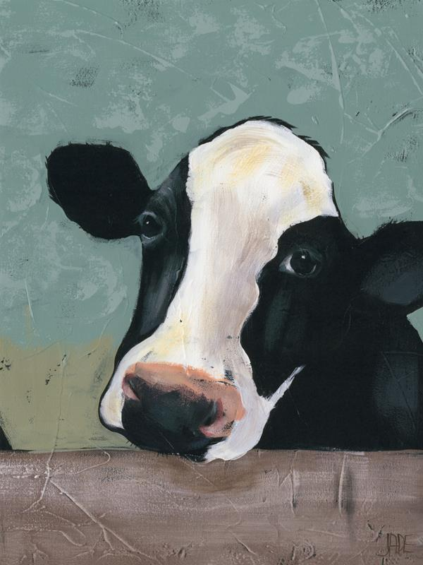 Holstein Cow 1 18x24 Framed Artwork from Interior Elements, Eagle WI