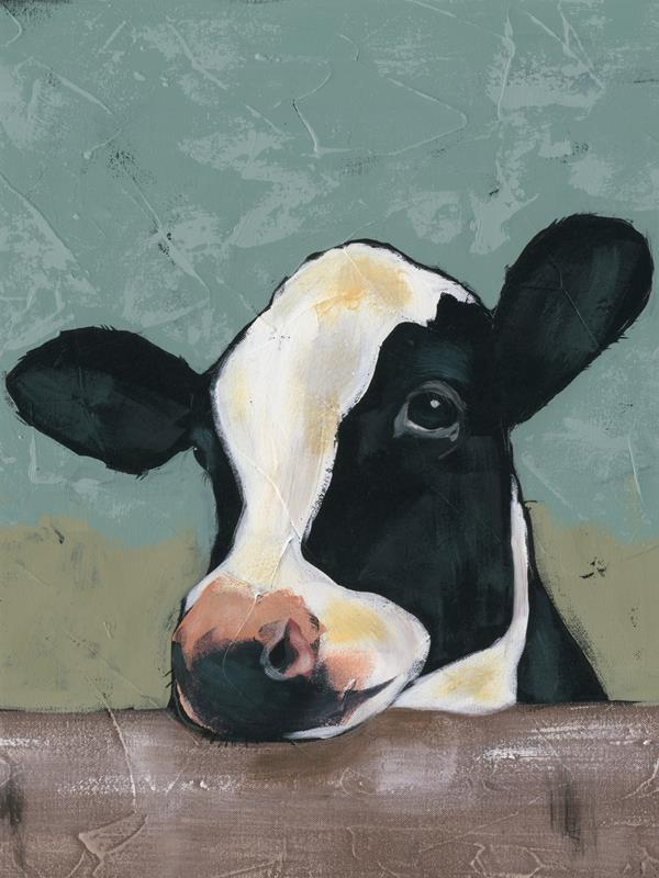 Holstein Cow 2 18x24 Framed Artwork from Interior Elements, Eagle WI
