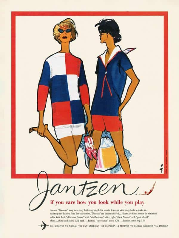 Jantzen Ad 5 12x16 Framed Artwork from Interior Elements, Eagle WI