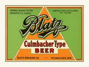 Blatz Culmbacher type