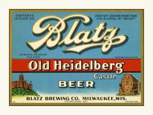 Blatz Old Heidelberg-light blue