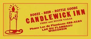 Candlewick matchbook