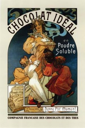 European poster-Chocolat Ideal